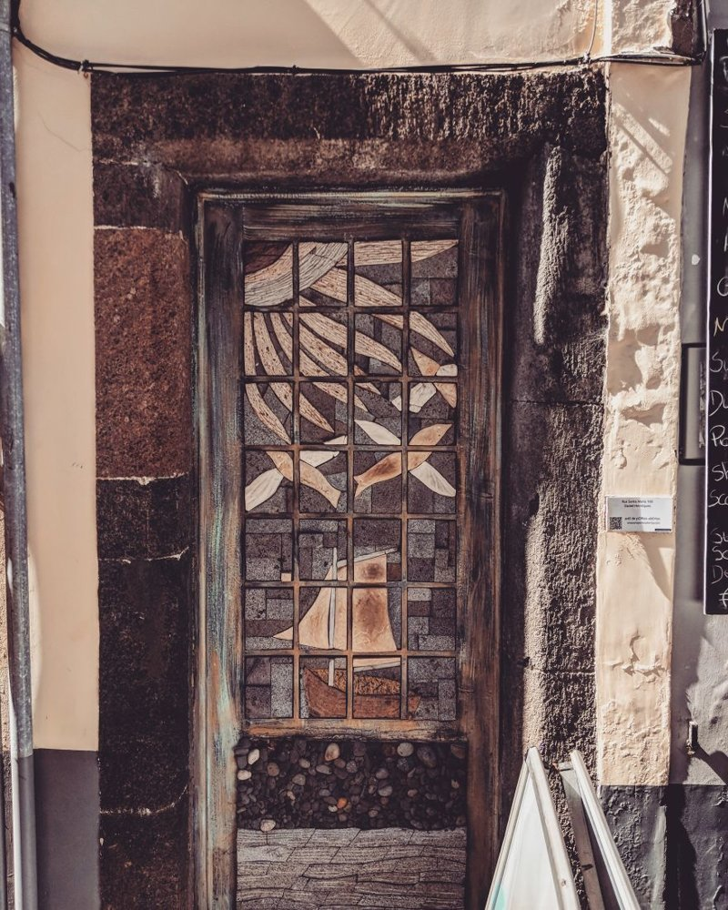 8. дверь, картина, мадейра, португалия, путешествие, фотография, фотомир