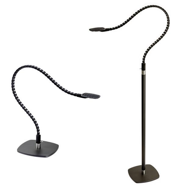 Необычная настольная лампа-змея