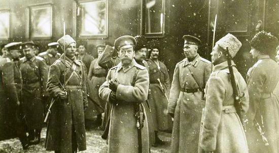 События, предшествовавшие отречению Николая II от престола