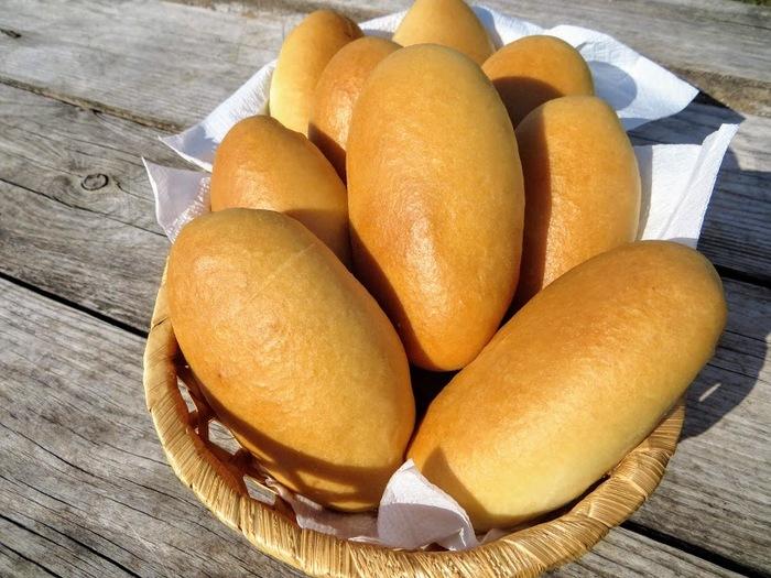 Пирожки с лисичками и картошкой. Очень вкусное тесто
