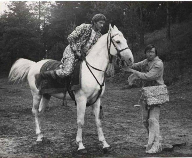 В съемках фильма принимали участие 11 лошадей