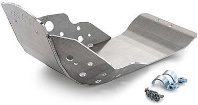 Алюминиевая пластина для защиты картер двигателя мотоцикла.