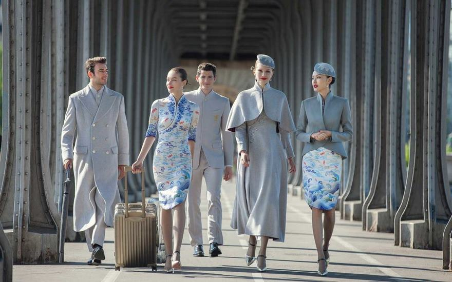 Chinese Airline's New Haute Couture Uniforms Puts Other Airlines To Shame
