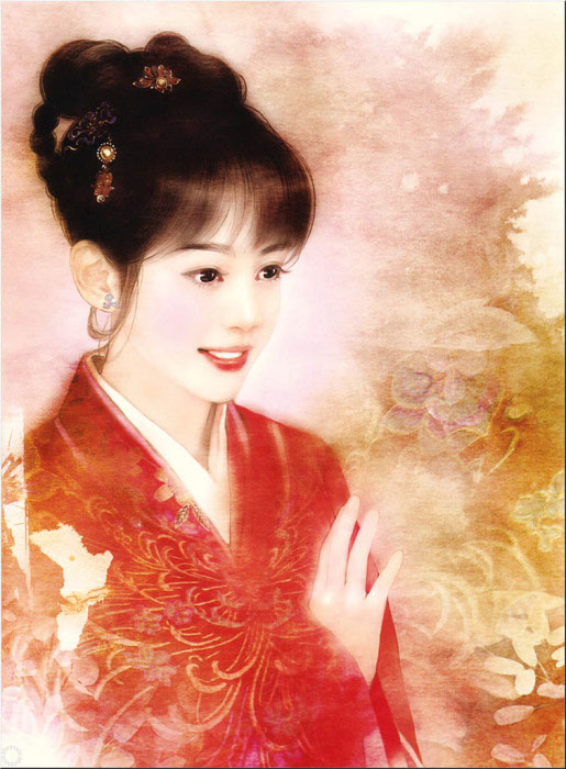 Изумительно прекрасные портреты китаянок в работах тайваньской художницы