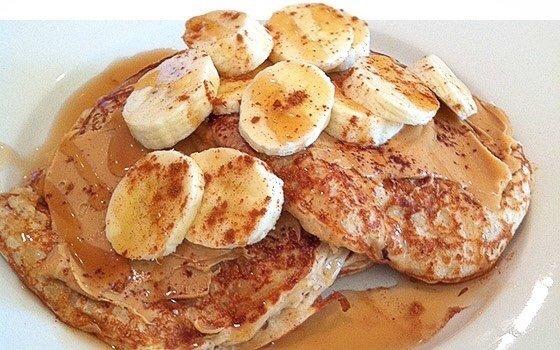 Творожно-банановые оладушки. Невероятный завтрак!