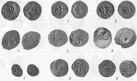 Восточные монеты XIV-XV вв. в Рязанской земле