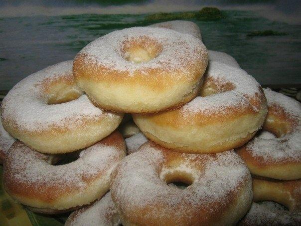 Фото к рецепту: Пончики вкуснейшие