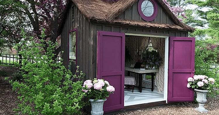 Достойный женский ответ мужскому гаражу — райский уголок на своей даче