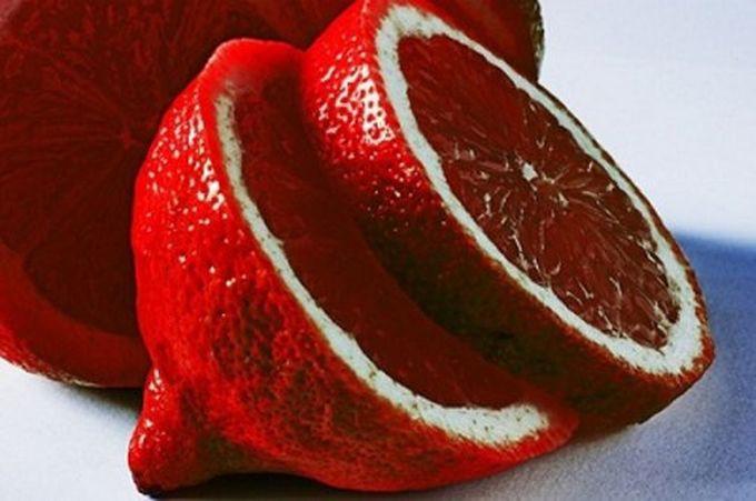 1. Кровавый лайм гибрид, еда, фрукты