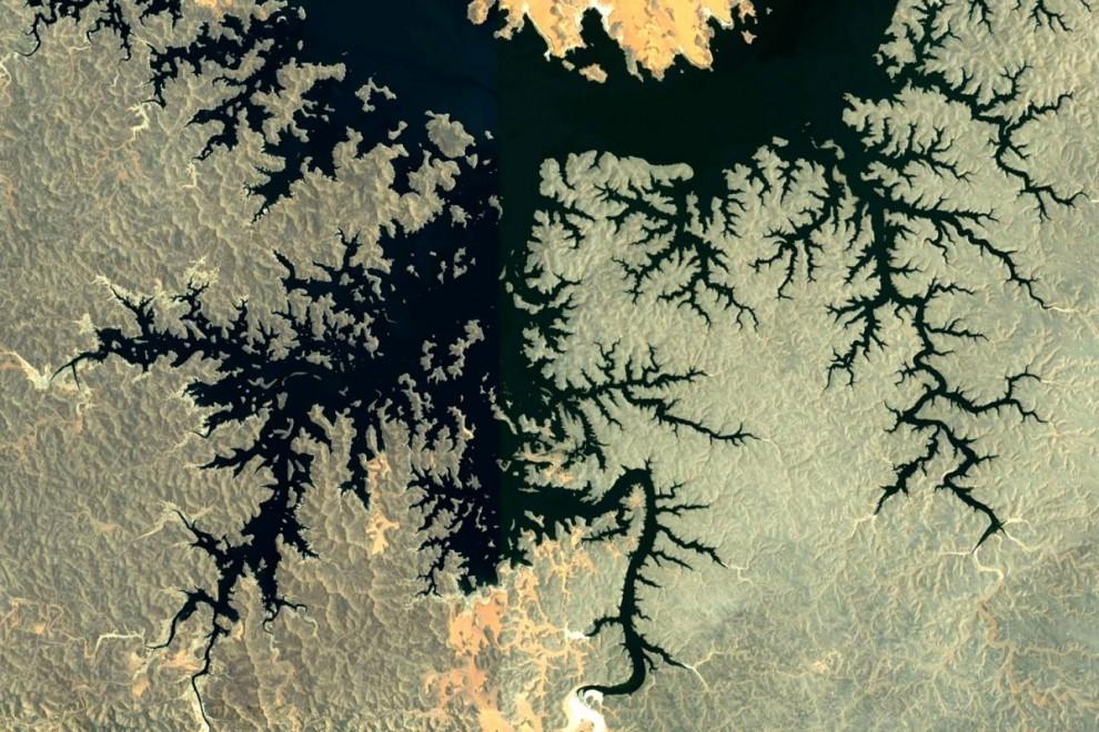 landscape 1 Фрактальные узоры на поверхности Земли