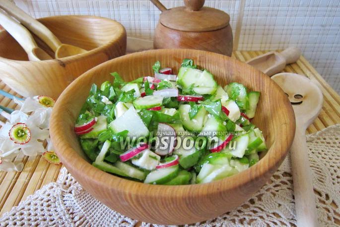 Фото Витаминный салат со щавелем