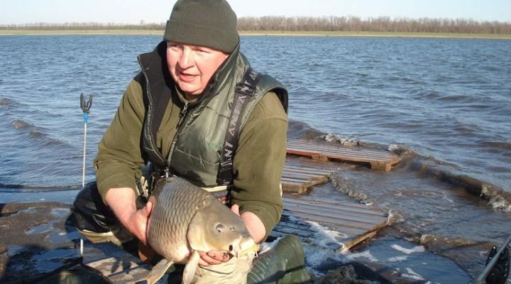 рыбалка ловля карпа ранней весной