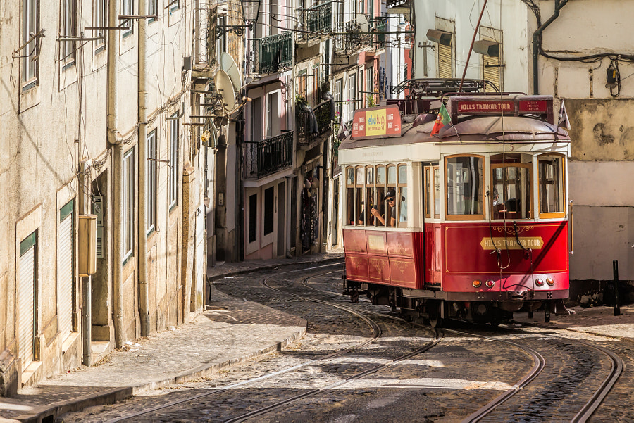 The old tram of Lisbon by Michael Voss on 500px.com