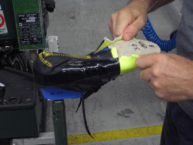 Как сделаны новейшие футбольные бутсы Nike GS