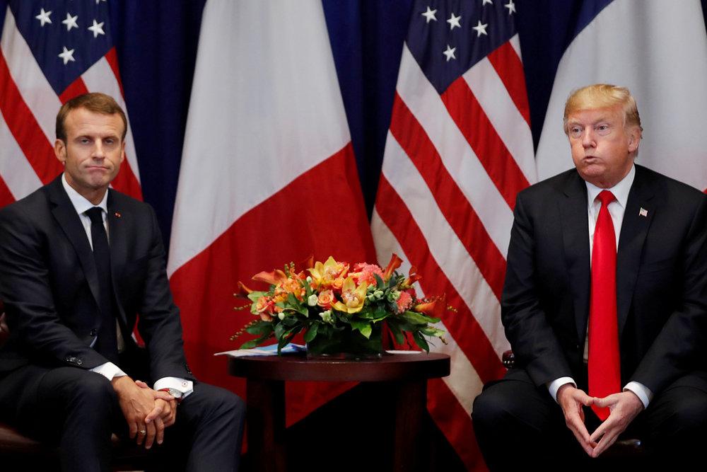 Трамп и Макрон обсудили Сири…