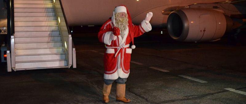 В аэропорт Самары из Финлянд…