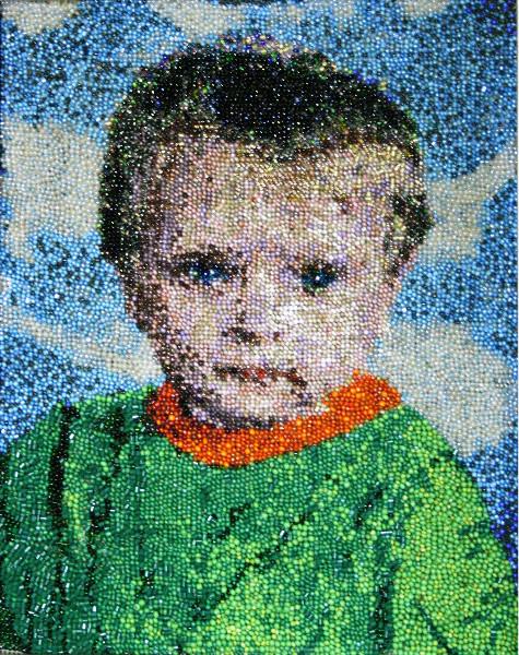 Портрет из бисера своими руками