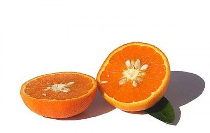 3. Тангор гибрид, еда, фрукты