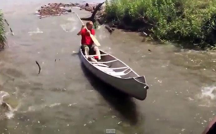 Простая рыбалка - видео