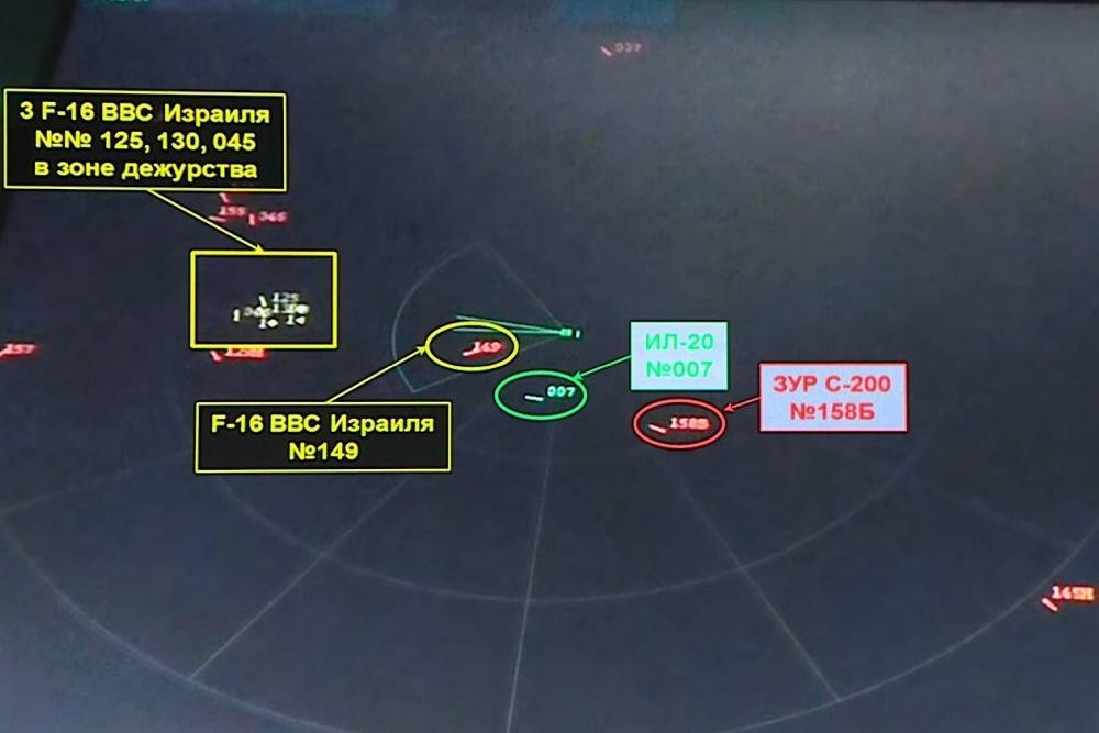 ПВО РФ раскрыла хитрость ВВС Израиля в крушении Ил-20