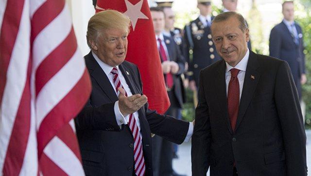 Во время речи Эрдогана в Нью-Йорке произошел инцидент, задержали пять человек
