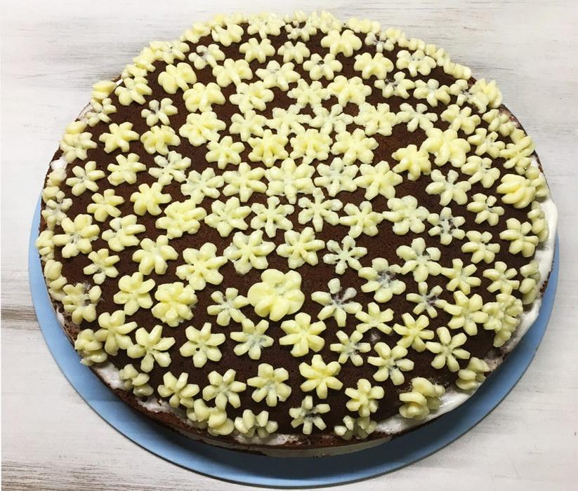 Домашний торт «Негр в пене»,…