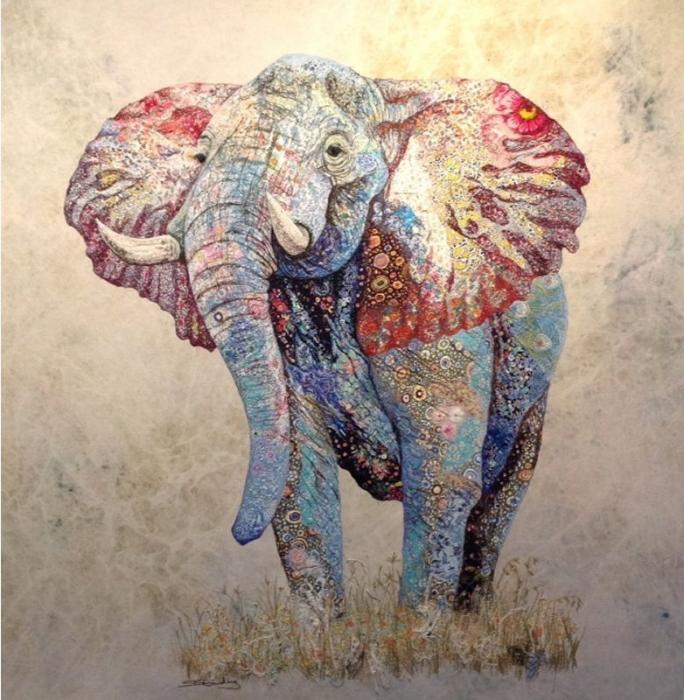 Яркие африканские коллажи от Софи Стэндинг