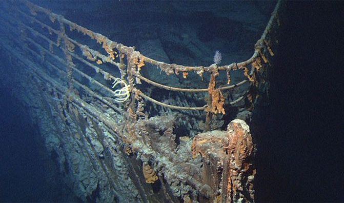 22. Останки «Титаника» были обнаружены только через 73 года после катастрофы. интересно, кораблекрушение, титаник