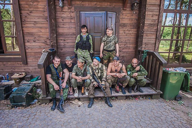 """Интернациональная бригада """"Пятнашка"""" под Марьинкой"""