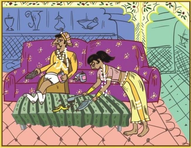 Рисованные мужчины и женщины картинки камасутре фото 196-518