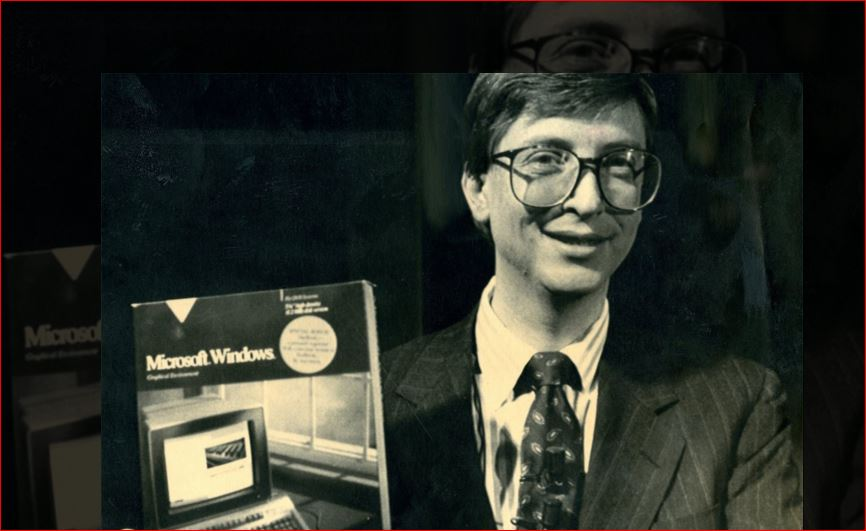 Основатель Microsoft Билл Гейтс празднует юбилей