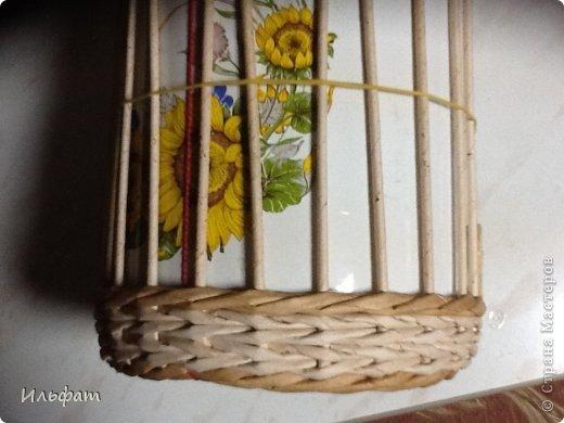 Мастер-класс Плетение Конфетница Трубочки бумажные фото 3
