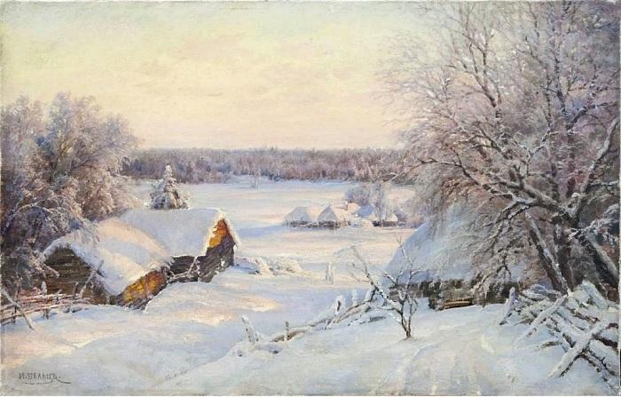 Реалистичные пейзажи художника ХIХ века Ивана Вельца, который не остался в тени великих живописцев той великой эпохи