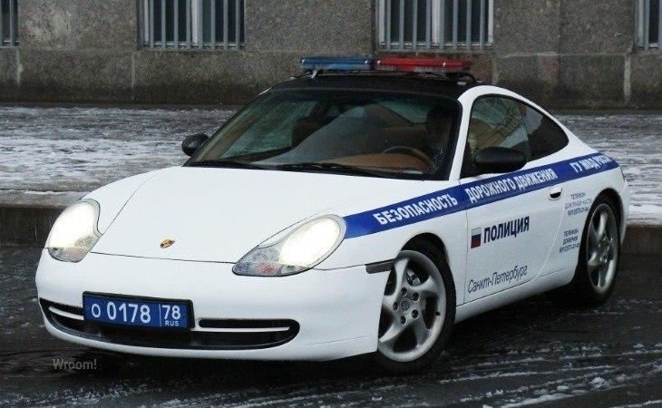 Автомобили российской полиции