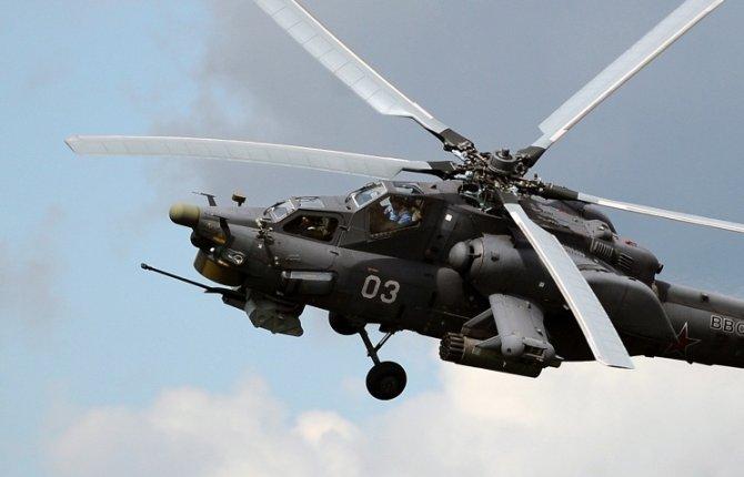Вертолет Ми-28Н ВКС РФ потер…