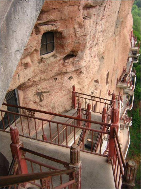 Удивительные скульптуры пещеры Лонгмен и грота Майджишан /// Неожиданно ...