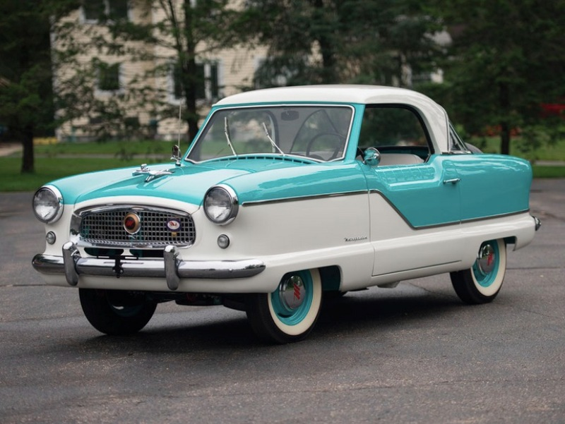 7. 1958 Metropolitan Coupe Hershey Motor Lodge, аукцион, олдтаймер, продажа авто