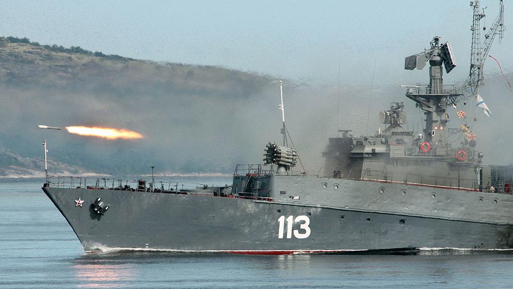Зачем Россия вывела в море п…