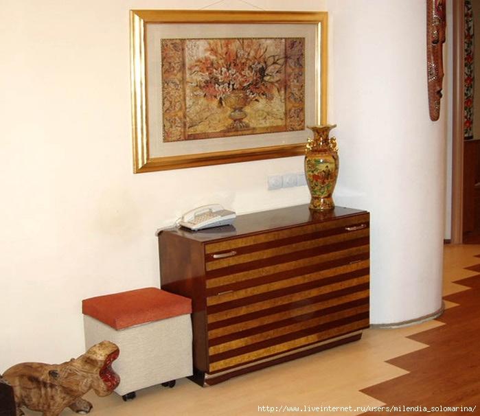 Переделка старья: обновление советской полированной мебели