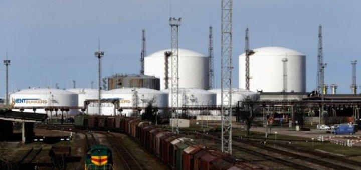 Латвия Нефть Газ