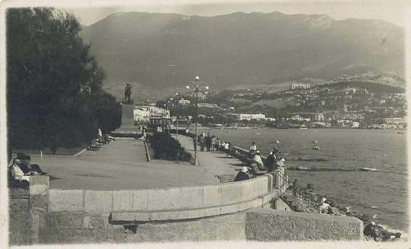 Фото: Ялта, набережная. 1939 год