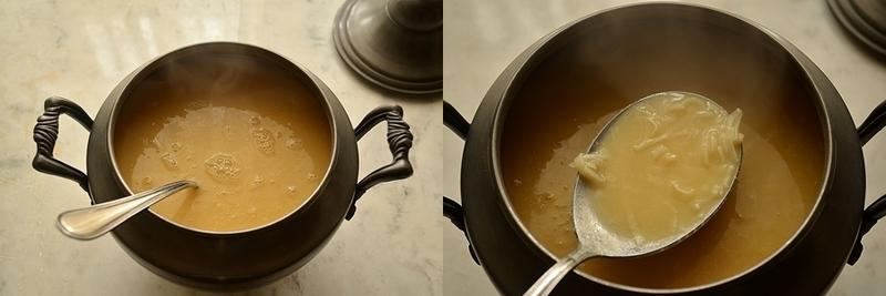Суп гороховый с домашней лапшой