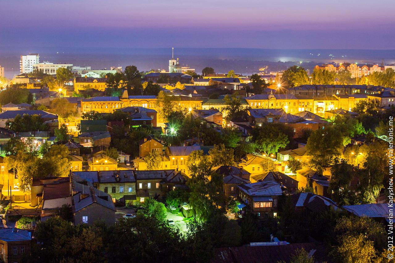 Самара ночью (фото не мои) город ночью, самара