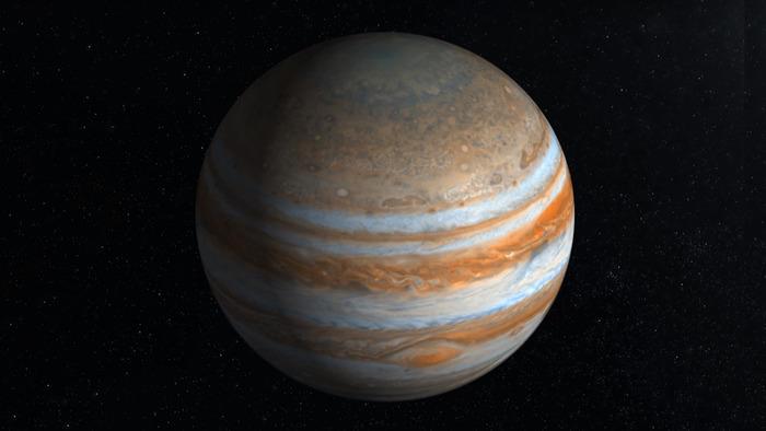 Под облаками Юпитера скрываются «океаны воды»