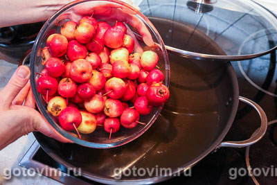 Варенье из прозрачных райских яблок, Шаг 02