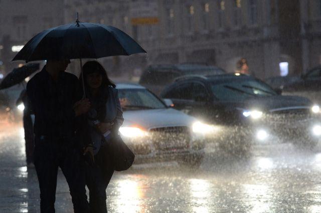 В Москве за ночь выпало около половины месячной нормы осадков