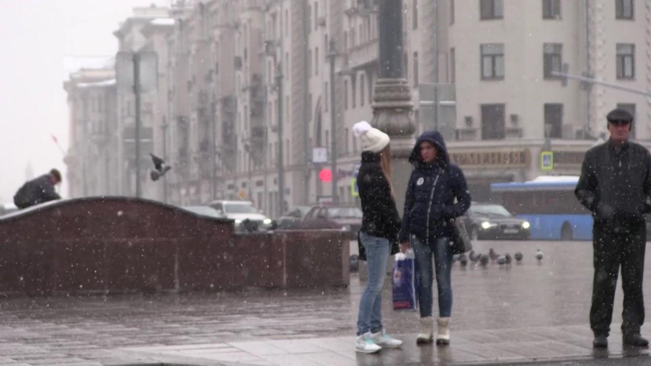 Москвичей предупредили о резком осложнении дорожной обстановки