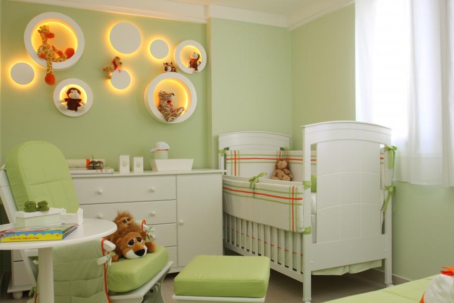 Фото дизайн комнаты для новорожденного