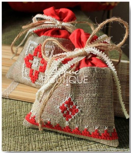 Шьем простой мешочек для трав или сухофруктов Ярмарка 28