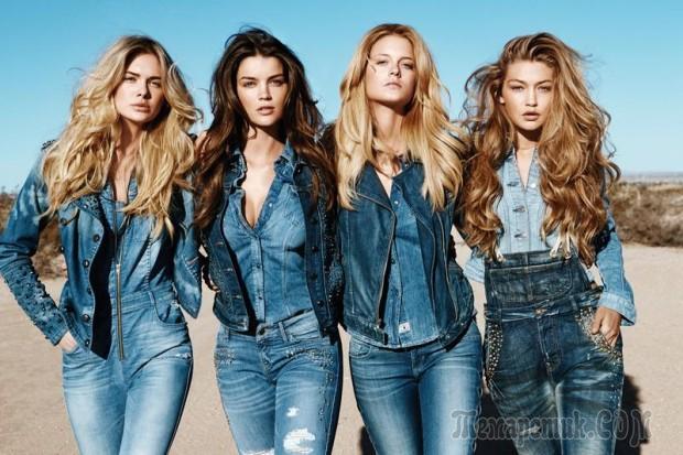 Тренд осени - 2015: стильные джинсовые женские куртки